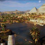 O Kemet retratado  no trabalho gráfico da Ubisoft