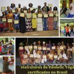 Primeira geração de instrutores de Kemetic Yoga certificados no Brasil