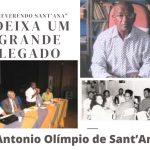 Morre o reverendo Antonio Olímpio de Sant'Ana